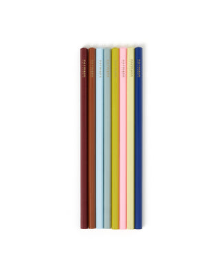 multi colored pencils - 8 pack