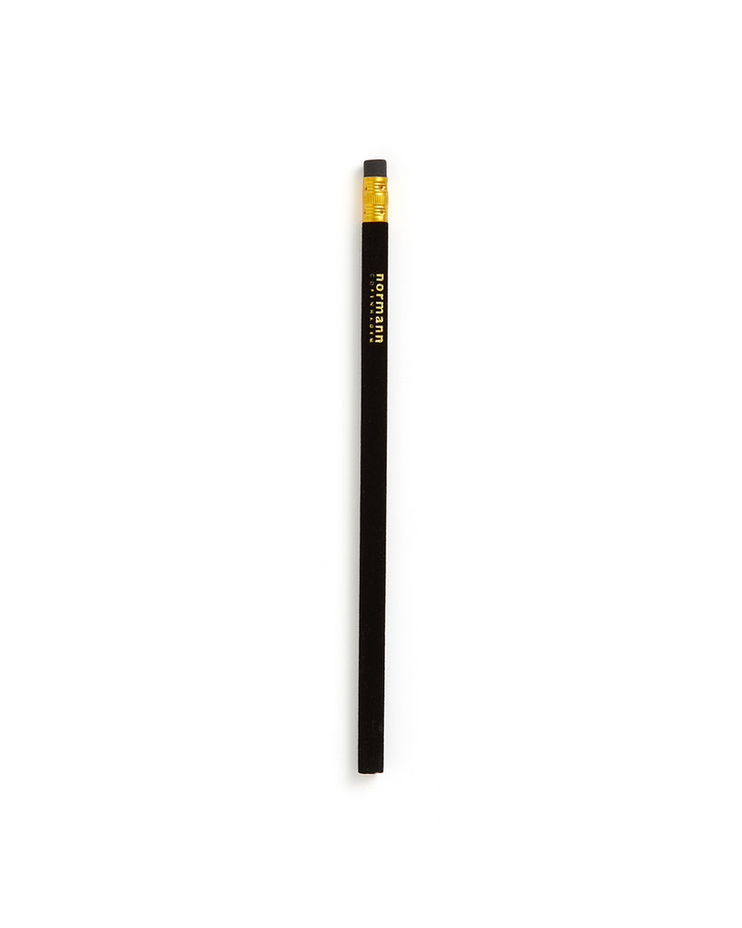 flock pencil - black