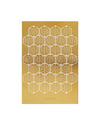 paper clip sheet - gold