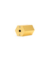 pencil sharpener - gold