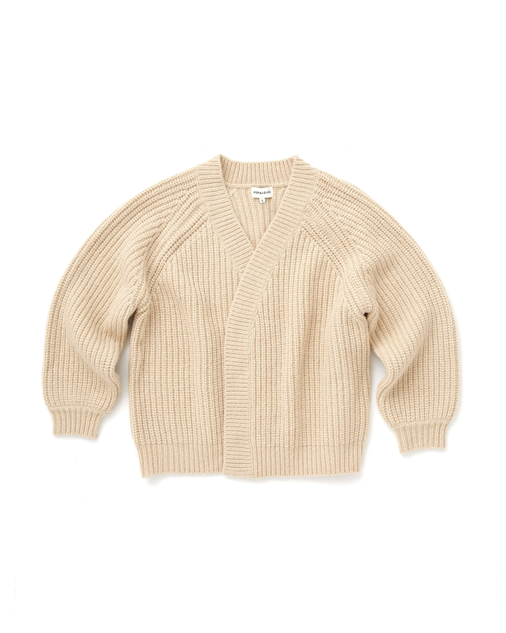 sand colored cardigan
