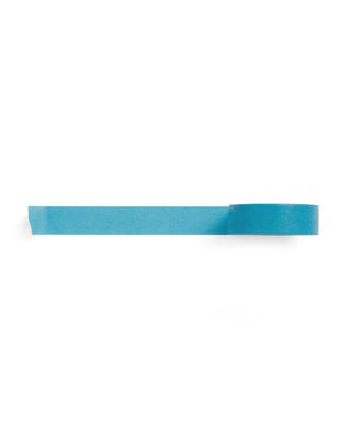 This paper tape comes in bright blue.