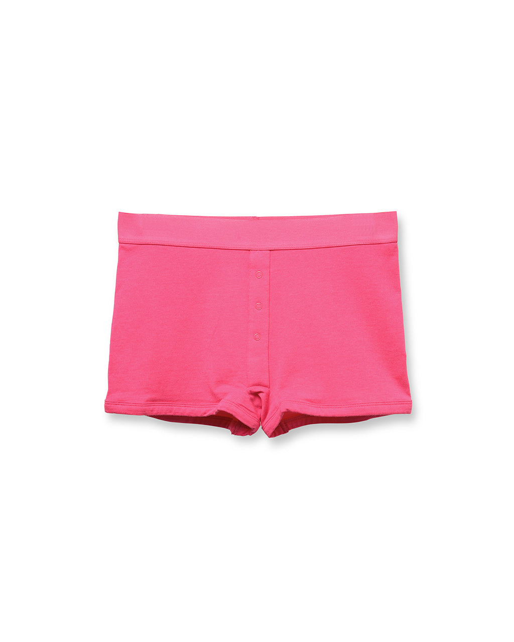 Femme boxers in pink.