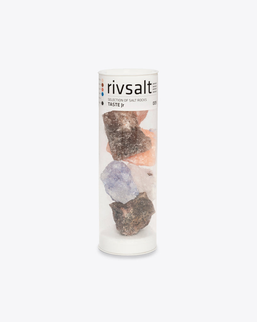 set of 6 rock salts