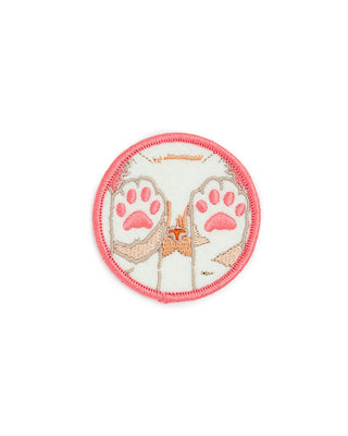 pastel kitten paws patch