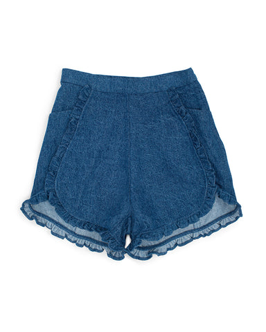 floweret shorts - ultramarine