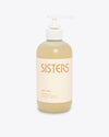 sisters hand wash shop in cream pump bottle