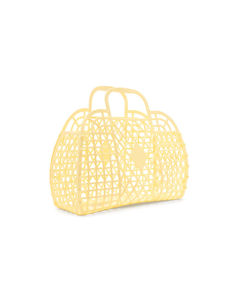Retro Jellies Bag - Large Yellow