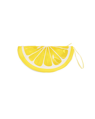 lemon see thru clutch