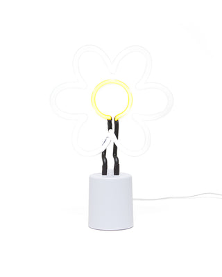 daisy neon light - large