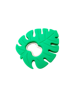 silicone bottle opener - monstera leaf