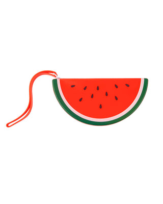 watermelon silicone coin pouch