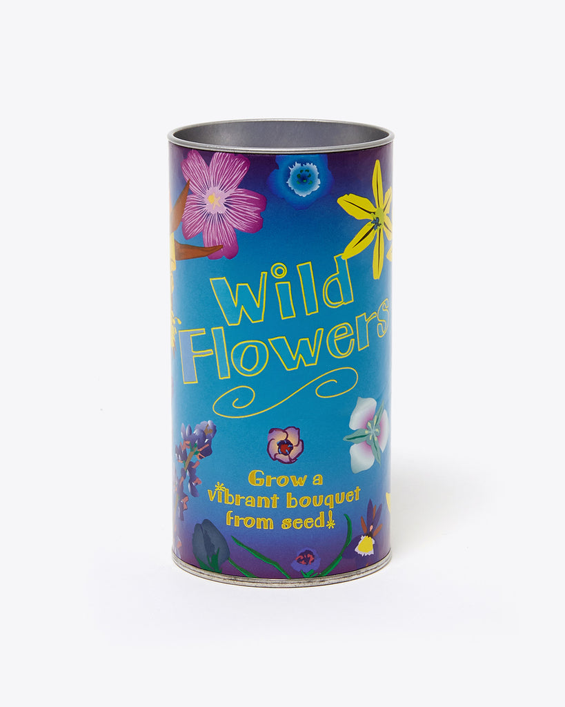wild flower seed kit canister