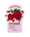 I'm Rose Sheet Mask
