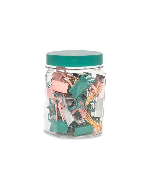 Arc Binder Clip Jar