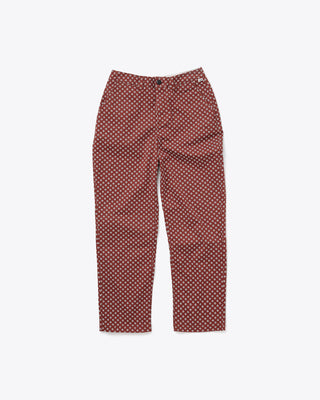 burgundy authentic henna pant