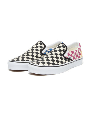 Vans Classic Slip-On - Glitter Check - Multi True/White