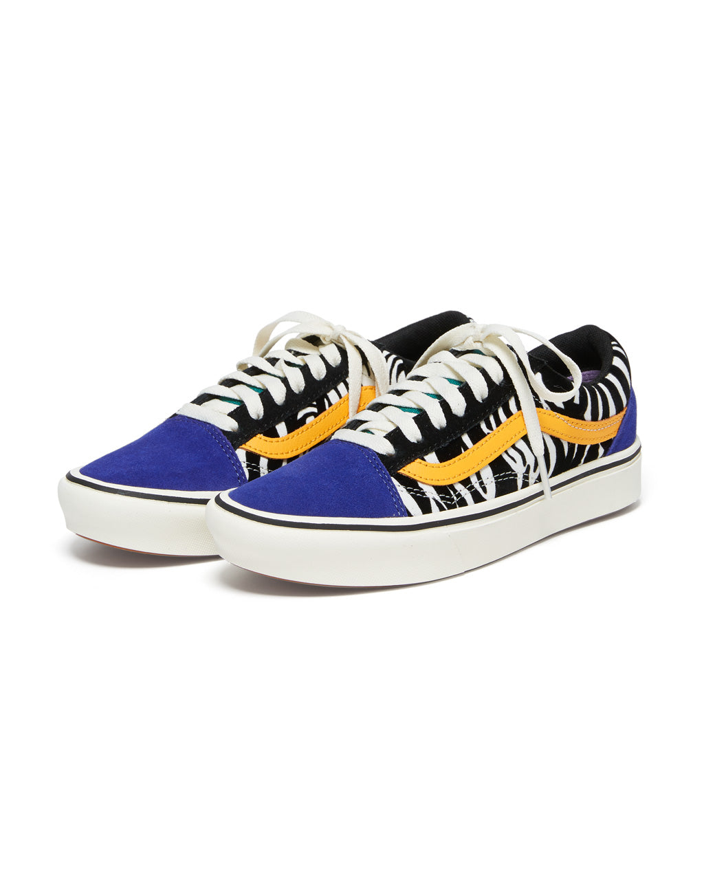 Comfycush Old Skool - Zebra by vans - shoes - ban.do