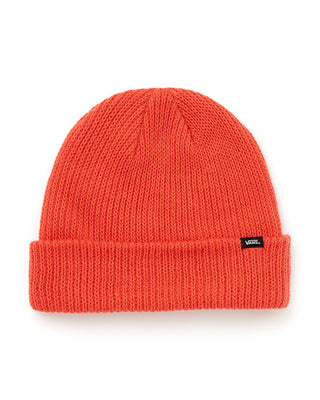 classic vans beanie shown in paprika
