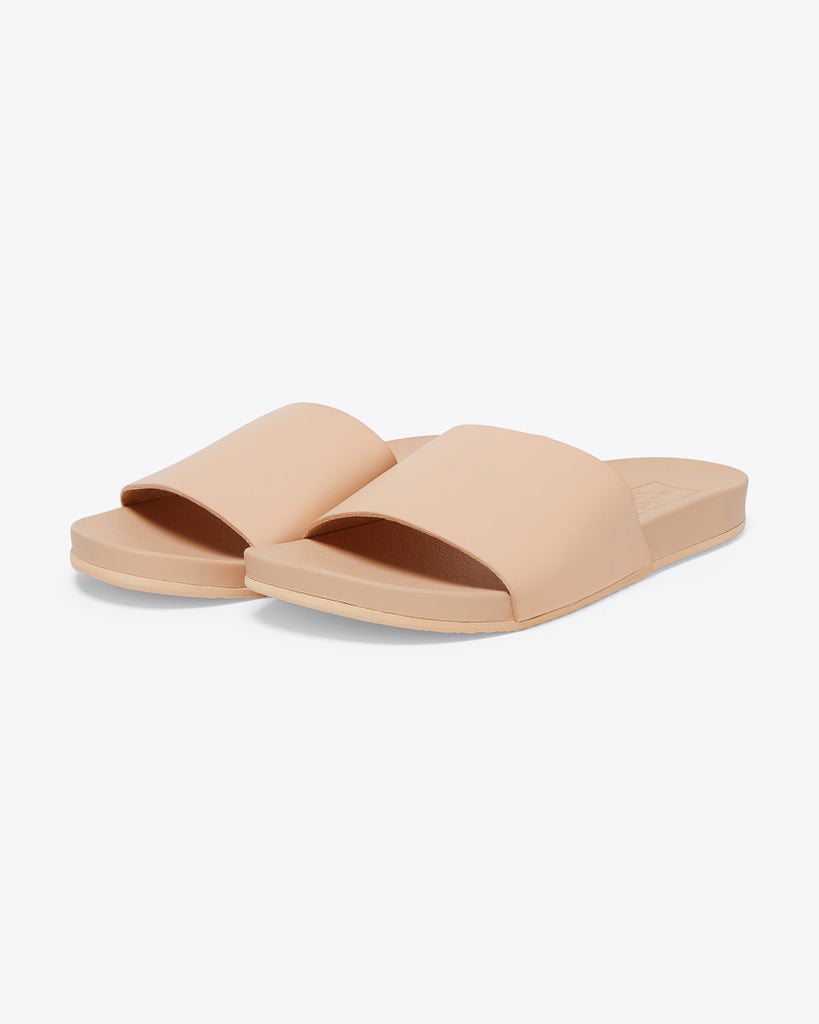 vans sandal slides in amber