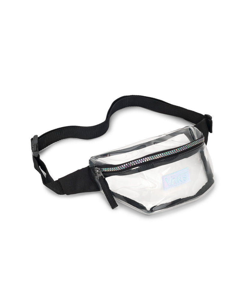 Clear fanny pack.