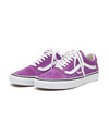 Old skool sneakers in dewberry purple.