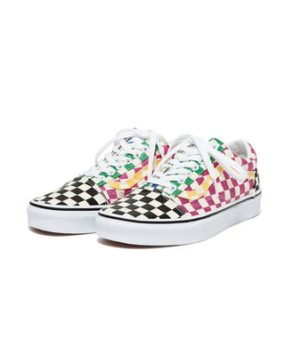 Vans Old Skool - Glitter Check - Multi True/White