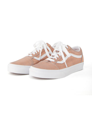 Rose gold old skool sneakers.
