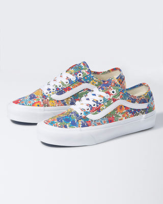 Vans Old Skool sneaker in multicolor Liberty floral