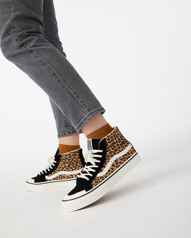 Sk8-Hi 138 Decon SF - Mini Leopard