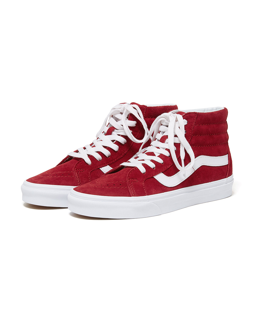 55c68bc07d Sk8-Hi - Red Suede by vans - shoes - ban.do
