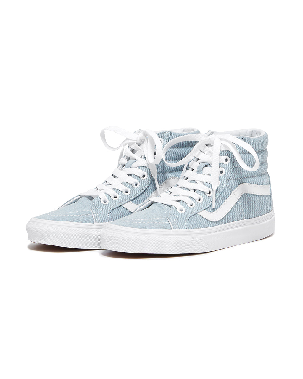 26c96b5f4e sk8-hi reissue - denim by vans - shoes - ban.do
