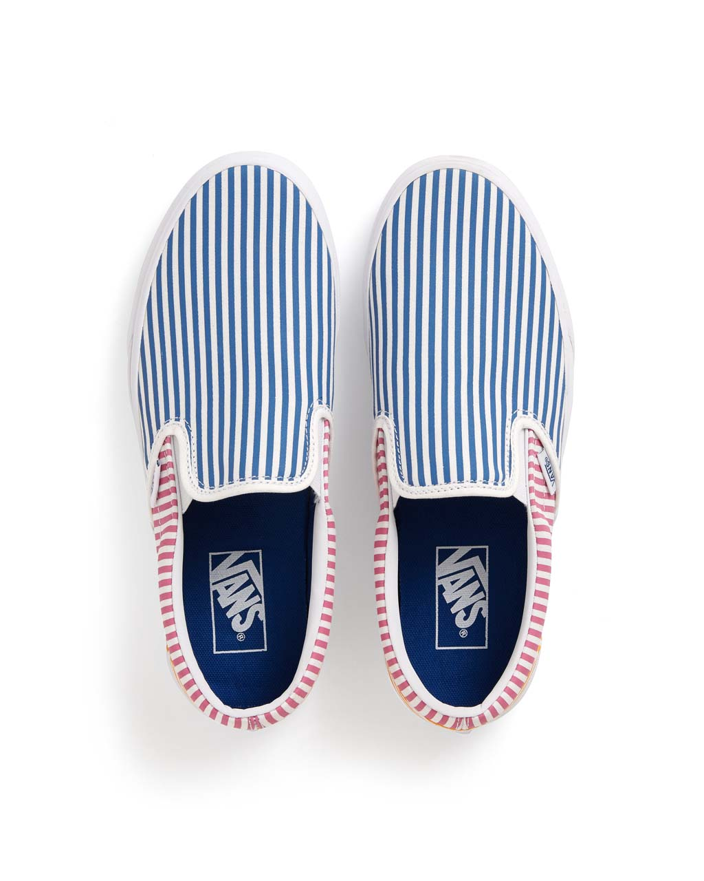 08c29aa1f0 Classic Slip-On - Deck Club Stripes by vans - shoes - ban.do
