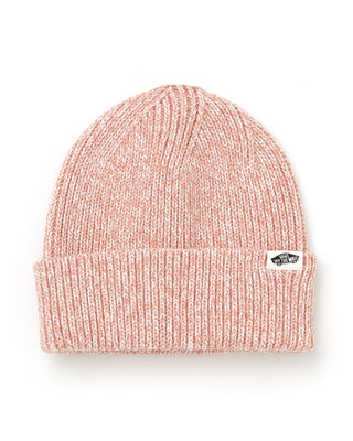 classic vans beanie shown in rose heather