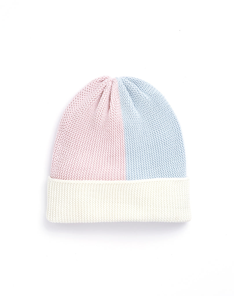 Color Block Beanie - Pastel