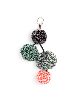 sporty pom charm - speckled