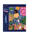 500 piece jigsaw puzzle with a just chillin theme