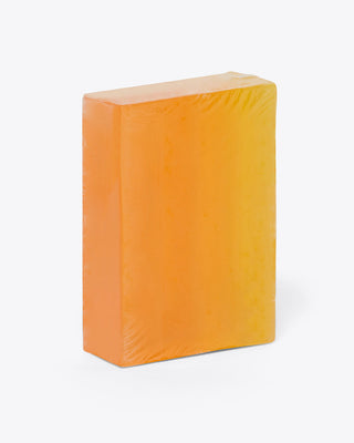 orange ombre soap bar