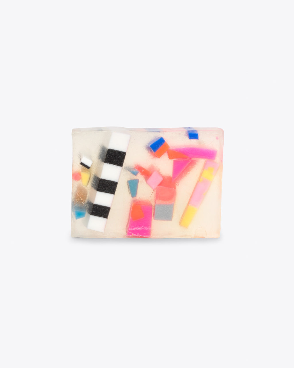 abstract cluster design soap bar