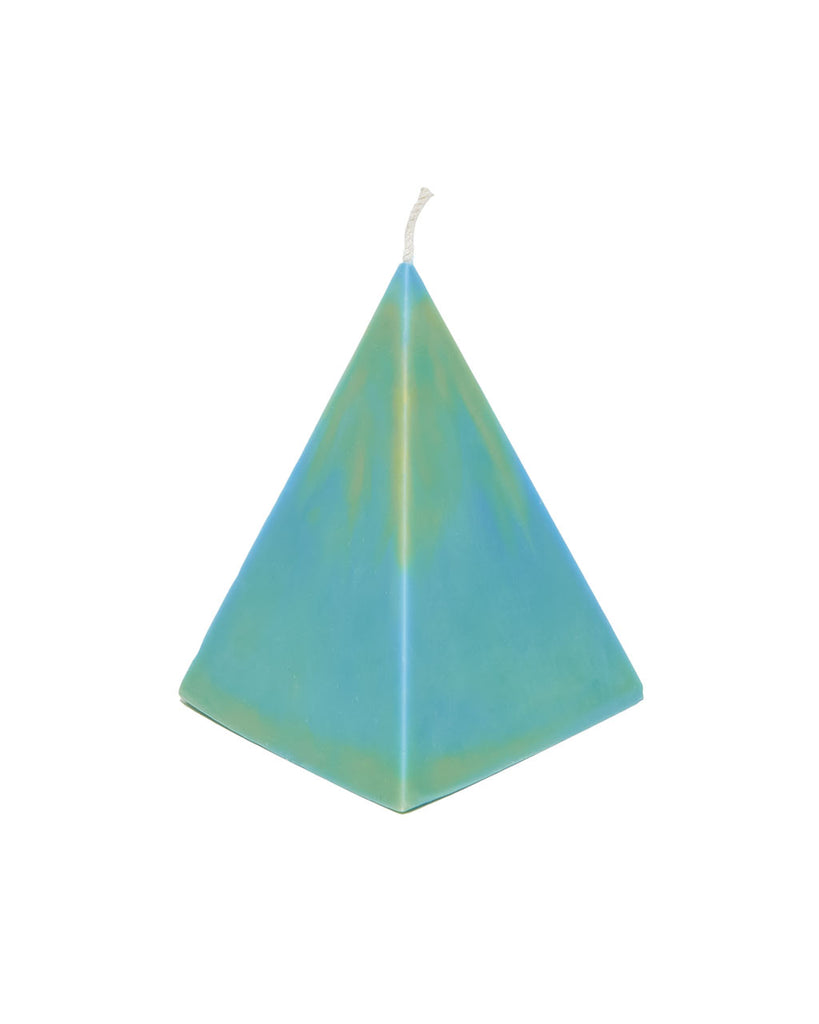 small pyramid treasure candle - seabreeze