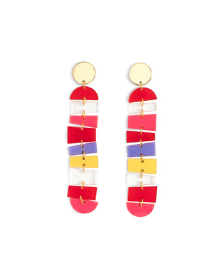 tequila sunrise earrings