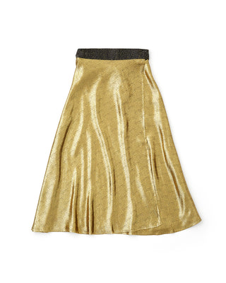 gold speckle skirt