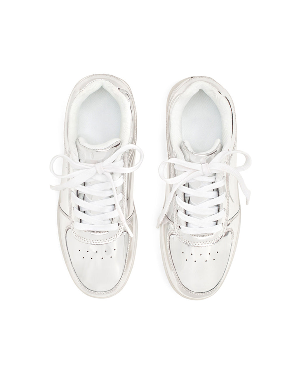 6a9eec32df Silver Light Up Sneakers by party store - shoes - ban.do