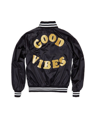 good vibes bomber jacket