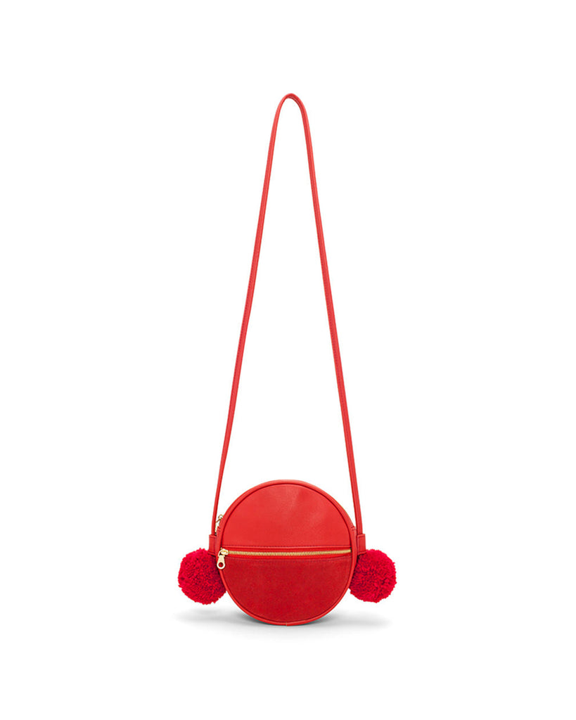 This Sidekick Crossbody Bag comes in punch red.