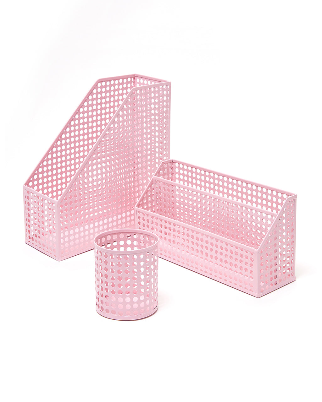 pink solid gold tr paper pbteen o accessories trim set products printed with desk