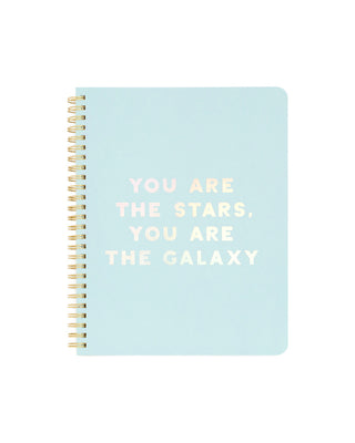 rough draft mini notebook - you are the stars you are the galaxy