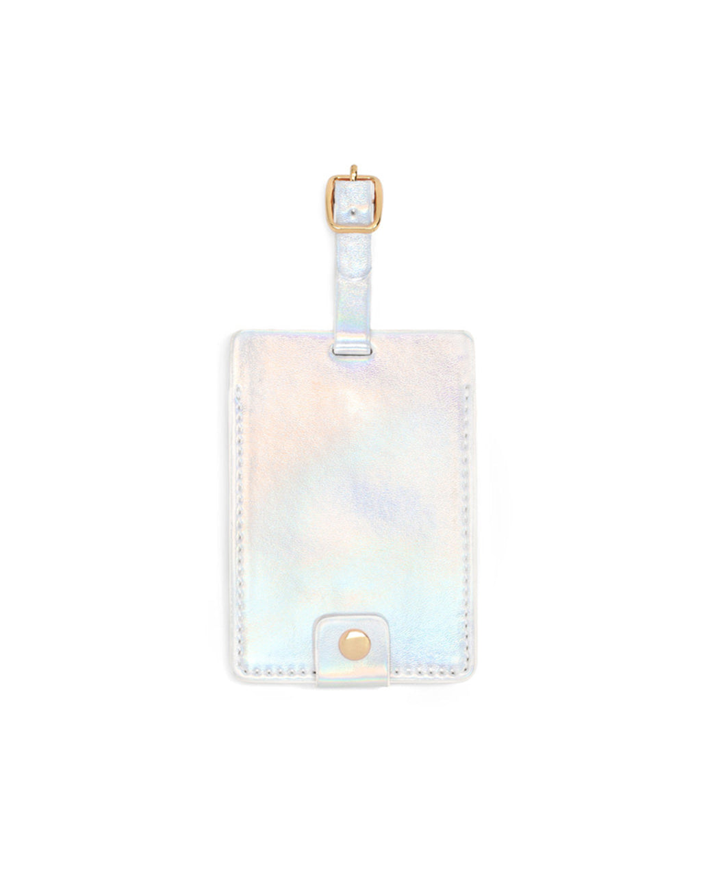 the getaway luggage tag - holographic