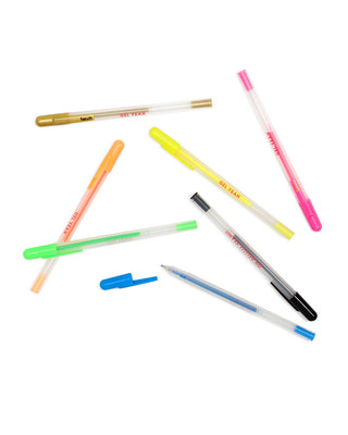 gel yeah pen set, assorted