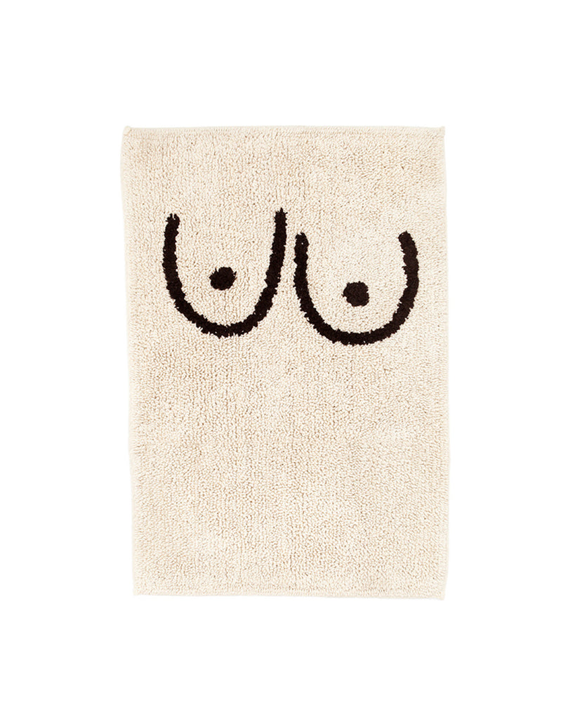 Boob Bath Mat Cream By Cold Picnic Rug Ban Do